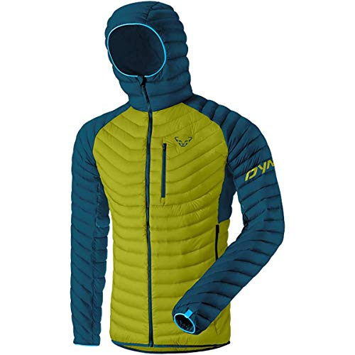 DYNAFIT M Radical Down Hooded Jacket Grün, Herren Daunen Isolationsjacke, Größe 2XL - Farbe Moss
