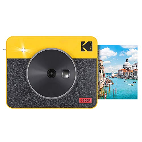 Kodak Mini Shot Combo 3 Retro - C300R, Giallo