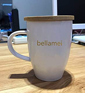 Bellamei Ceramic Coffee Mug For Milk Tea with Big Handle