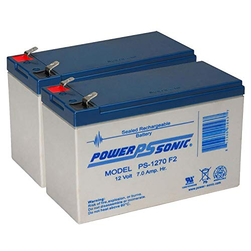Omnibot 2000 Battery 6V, 4.5Ah, 4500mAh, F1 Terminal, AGM, SLA Replacement UB645 Universal Sealed Lead Acid Battery