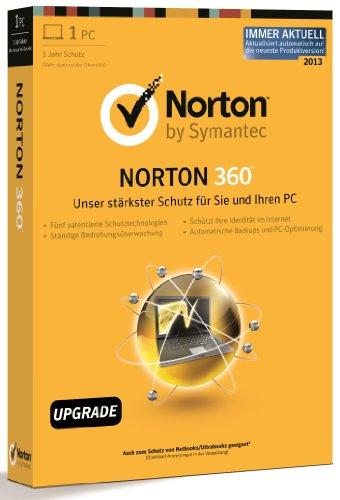 Norton 360 7.0 - 1PC - Upgrade [import allemand]