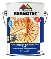 Bergotec Treppen & Parkettlack, Farblos Glänzend, 10 L