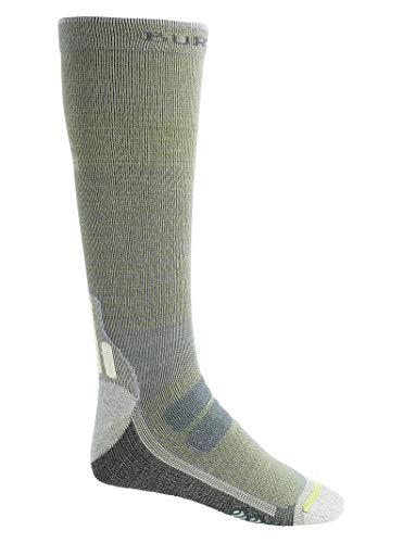 Burton Mens Performance + Ultralight Compression Sock, Tender Shoots, Large