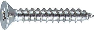 TRUSCO(トラスコ) 皿頭タッピングねじ ステンレス M3.5X12 105本入 B103512