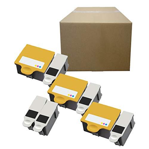 Inktoneram Compatible Ink Cartridges Replacement for Kodak 10XL 10 10C 5100 5300 5500 ESP 3 5 7 9 3250 5210 5250 7250 9250 ESP Office 6150 Hero 7.1 9.1 Office Hero 6.1 ([5-Black, 3-Color], 8-Pack)