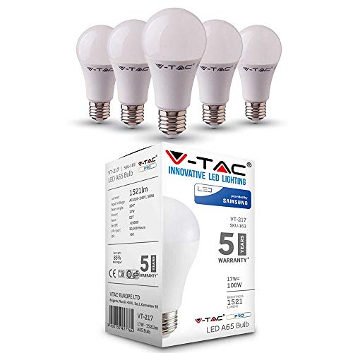 V-TAC LED Deckenleuchte 8 W Quadrata weiß Color Change 2In1 Dimmable Effekt Sternenhimmel mit Fernbedienung