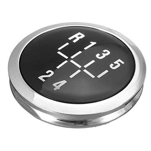 XUKEY 5-Gang-Schaltknauf-Kappe Decal Trim Abzeichen einfügen Für ASTRA H 2004- Zafira B 2005- ANTARA SIGNUM CORSA D VECTRA C FL