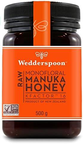Wedderspoon Manuka Honey KFactor 16, 500 g