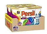 Persil 4in1 DISCS Color, Colorwaschmittel, 98 (2 x 49) Waschladungen für Fleckenentfernung, Leuchtkraft, Frische, Faserpflege und hygienisch reine Wäsche
