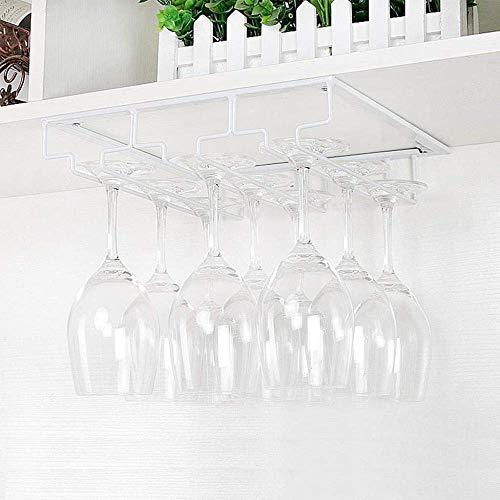 GIOAMH Botellero colgante para el hogar, gran espacio de almacenamiento de hierro forjado, botellero más grande