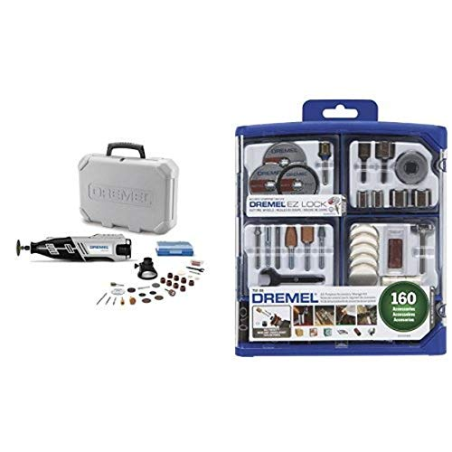 Dremel 8220-1/28 Rotary Tool with 160-Piece All-Purpose Accessory Kit