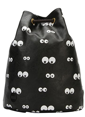 Mi-Pac Gold Swing Bag Sac à Cordon, 38 cm, Noir(Eyes Black)