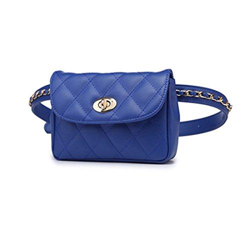 Umily donne ragazze Waist Packs Fanny Pack cellulare custodia Mini in pelle multifunzione borsa cintura borsa per le donne regalo