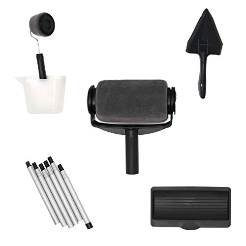 Decovations Paint Roller Kit. Our Paint Roller and Wall Painting Supplies Help You to Paint Rooms Faster. Paint Roller Brush and Small Paint Roller in Paint Roller Set Makes Transforming Rooms Easy