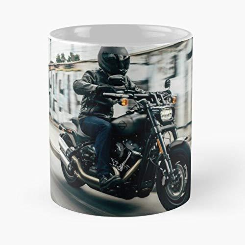 Fine Art Custom Hogg Travel Rider Cafe Racer Chopper Bikers Meistverkaufte Standardkaffee 11 Unzen Geschenk Tassen für alle