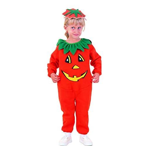 Ciao-Costume Zucca Halloween bambini unisex, 3-4 anni, Arancione, 61324.3-4.DS
