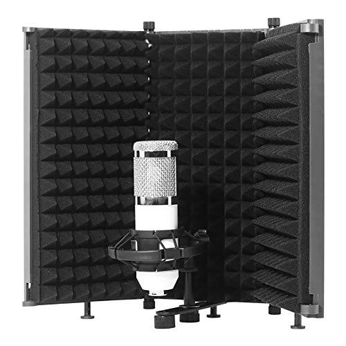 Pantalla Aislante De Micrófono, Filtro Pop De 5 Paneles,