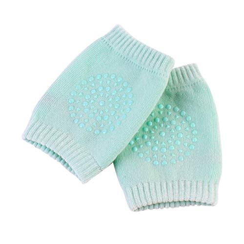 HUANGDANSEN Knee Pads 2 Pairs of Pure Cotton Baby Knee Pads Crawling Protective Cover Children's Short Knee Pads Sports Protective Gear | Elbow