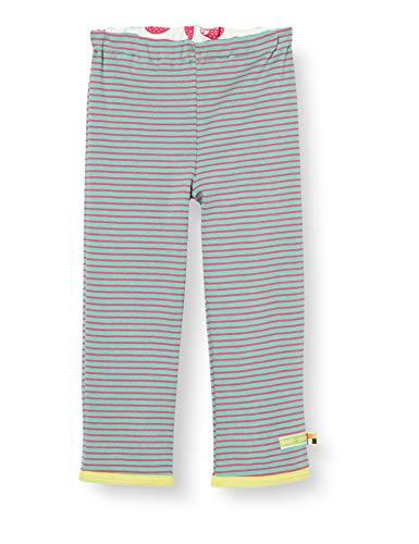 Loud + Proud Reversible Pant Organic Cotton Pantalon, Vert (Mint Min), 74/80 Bébé Fille