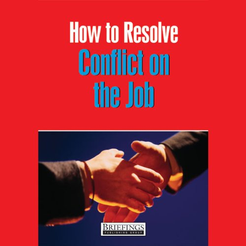 How to Resolve Conflict at Work audiobook cover art
