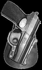 Fobus Concealed Carry Holster Makarov Paddle Elite Concealed Securely Case Handgun & Pistol Pouch