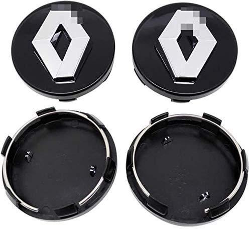 4pcs Auto Wheel Hub Center Caps Covers 57/60mm for Renault Clio 4 Megane 2 3 Laguna Duster Captur Fluence Kadjar...
