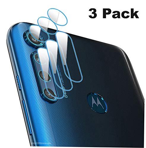 NOKOER Kamera Panzerglas Kompatibel für Motorola Moto G Pro, [3 Stück] Ultradünnes Gehärtetes 2.5D Kamera Schutzglas, 360 Grad Schutzkamera- Transparent