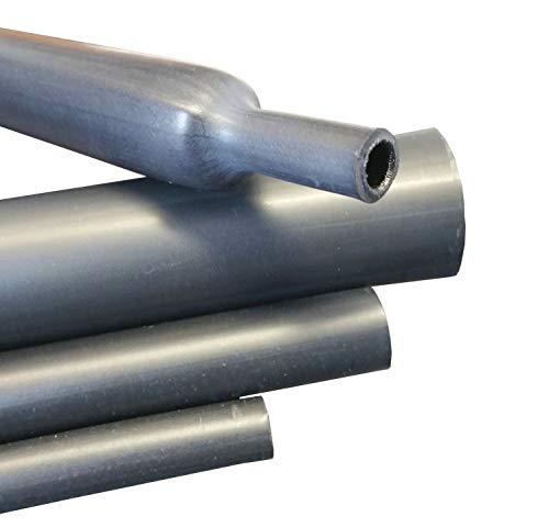 0,5m Schrumpfschlauch mittelwandig mit Kleber 4:1 schwarz, Größe wählen, Durchmesser:85mm - 0.5 Meter