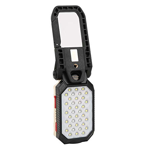 ZHenMei 39LED luz de trabajo portátil USB carga LED mantenimiento lámpara con imán para coche camping