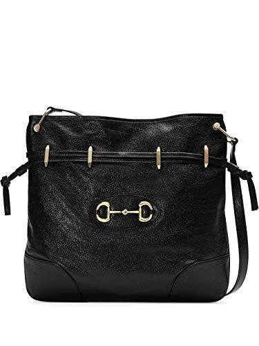 Luxury Fashion   Gucci Dames 6020891IV0G1000 Zwart Leer Schoudertassen   Lente-zomer 20
