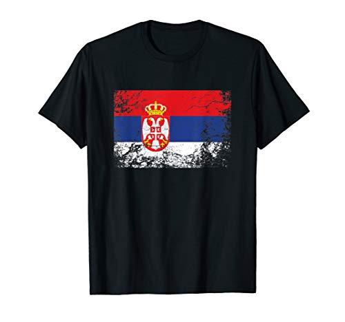 Serbien Flagge tshirt für Männer Frauen und Kinder T-Shirt