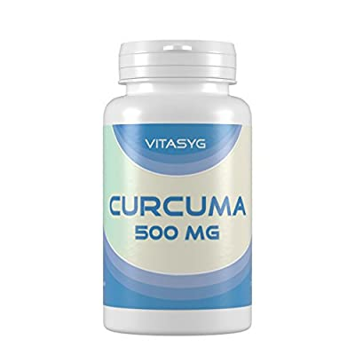 Vitasyg Curcuma 500 mg plus Piperin - 120 vegetarische Kapseln