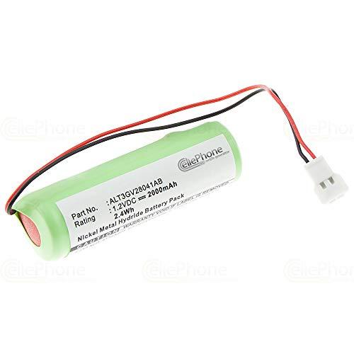 cellePhone batería Ni-MH para Alcatel 4068 IP Touch/Bluetooth 4068 (reemplazado ALT3GV28041AB)