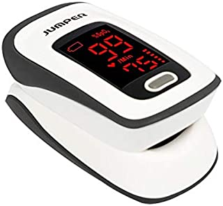 Fingertip Pulse Oximeter, Blood Oxygen Saturation Monitor (SpO2) with Pulse Rate..