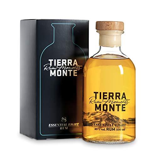 TierraMonte Essential Eight mit Geschenkkarton (1 x 0.5 l) - international ausgezeichneter Premium-Rum