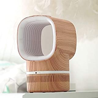Chargable LED Mosquito Lamp Insect Repellent USB Mute Mosquito Repellent Lamp, Colour: Golden Wood Grain High Quality
