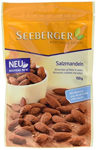 Seeberger Salzmandeln geröstet, 5er Pack (5 x 150 g)