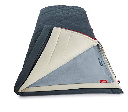 Coleman Unisex-Erwachsene All-Weather Multi-Layer Schlafsack, blau, N/A