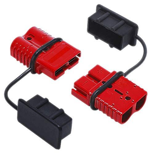 ReFaXi 2pcs 175A Batería de Coche Conexión rápida Desconectar Conector Winch 0 1 2 Cable de Calibre