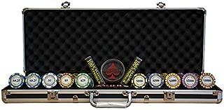 TDPOKER Maletín de Poker Profesional Montecarlo Royale Crown 500 Fichas