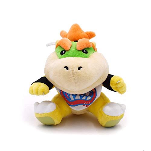 xinyawl Plüschtier 18 cm Super Mario Bros Koopa Bowser Plüsch Spielzeug Puppe Baby Bowser Koopa Plüsch Weiche Angefüllte Spielzeug für Kinder Kinder Geschenke