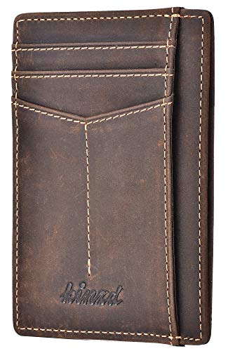 Our #1 Pick is the Kinzd Slim Vegan Wallet