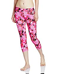 Speedo Girls Swimwear All Over Printed Swim Capri