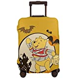 Travel Luggage Cover Anime Color Winnie The Pooh Suitcase Covers Protectors Zipper Washable Baggage Luggage Covers Fits XL