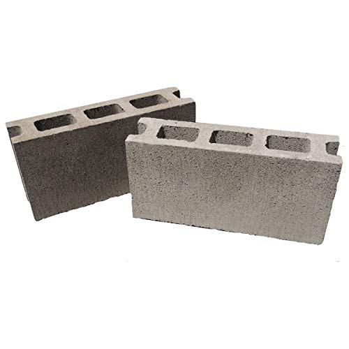 コンクリートブロック 基本 2個セット フジタJIS工場製品 C種 厚み100mm×横390mm×縦190mm