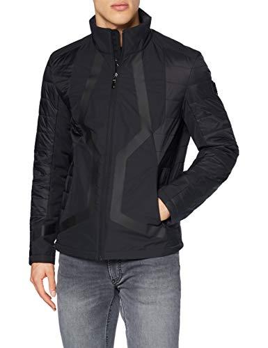 BOSS Mens J_Mera Jacket, Black (1), L