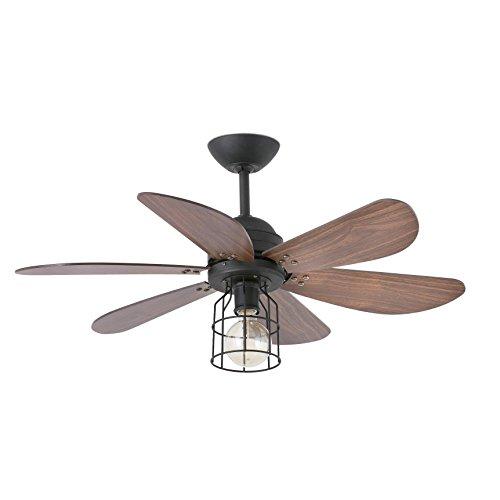 Lighthouse 33703?Ceiling Fan with Light, Walnut