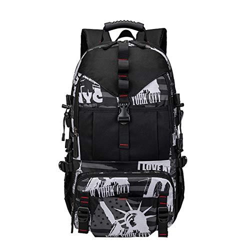 Unisex Student Backpack Large Light School Backpack USB Charging Backpack Laptop Backpack