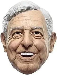 REV Ya Sabes Quién, Máscara de Andrés Manuel López Obrador Amlo, Disfraz del Peje Presidente de México de Máscaras de Pers...