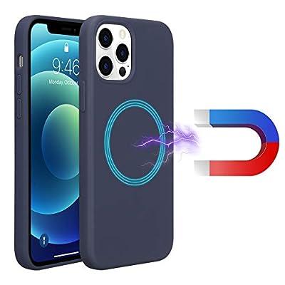 AnsTOP Liquid Silicone Magnetic Case Compatible...